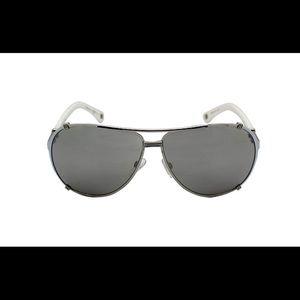 5596a686a421 Women s Black And White White Dior Sunglasses on Poshmark